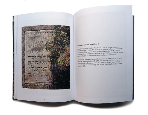 Sample pages of the book. Photo © and courtesy of C.M. Kösemen