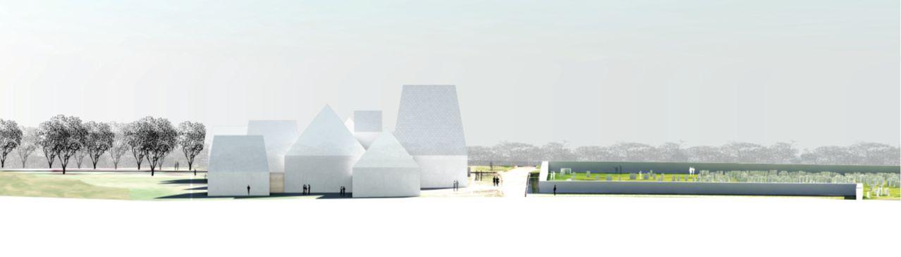 Preliminary design concept for the Lost Shtetl Museum