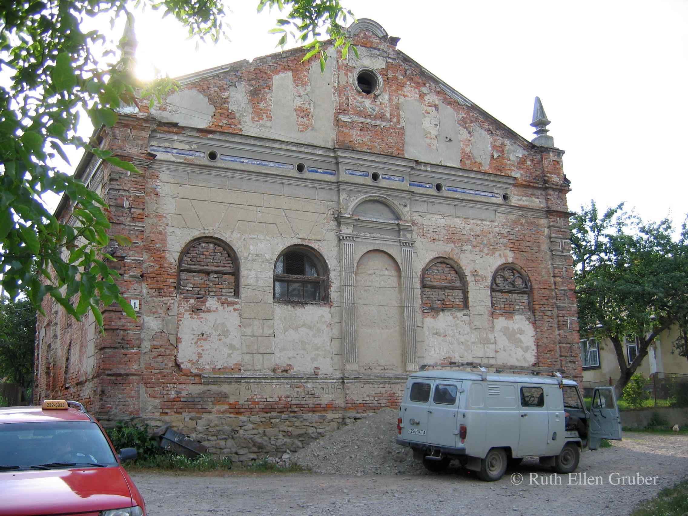 Synagogue, Stari Sambir, Ukraine